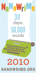 NaNoWriMo - 30 days, 50,000 words